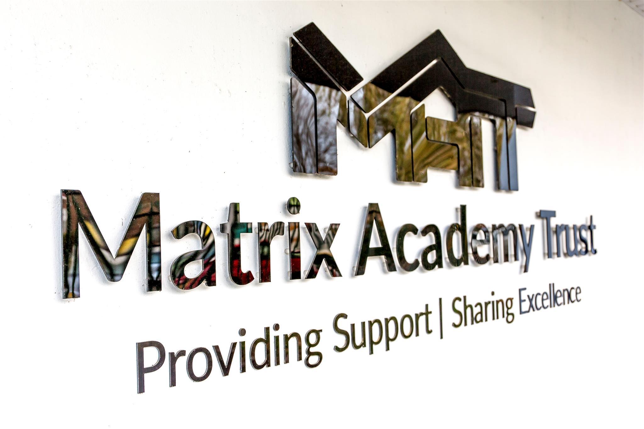 Matrix Logo Photograph Side