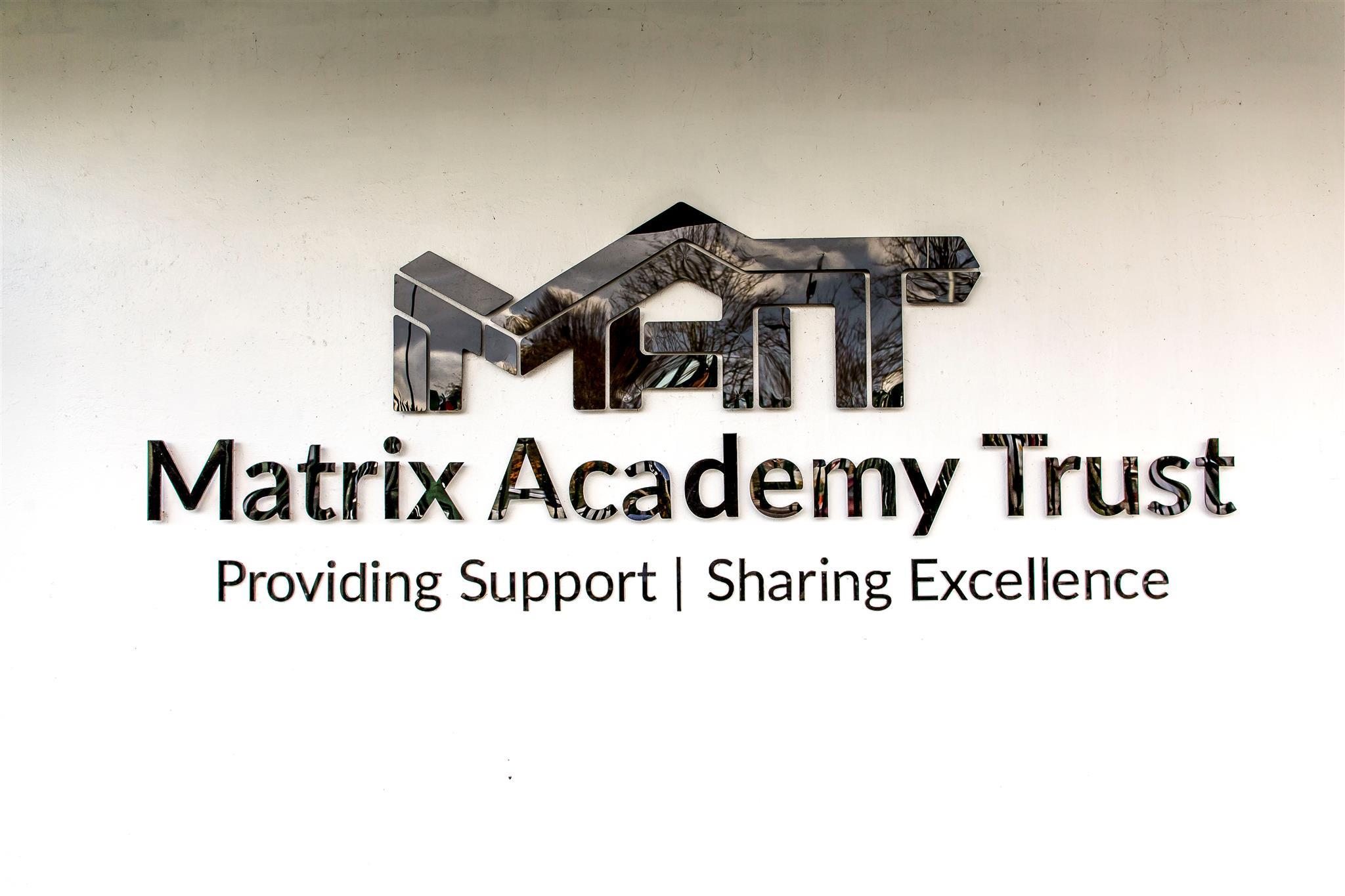 Matrix Logo Photograph Straight